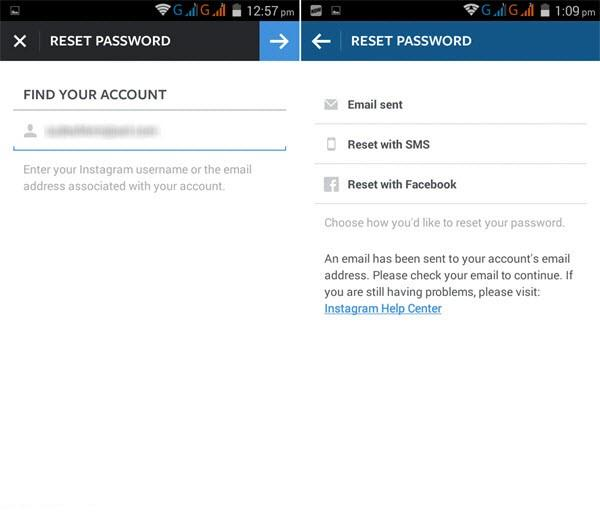 How to find the email of an instagram account