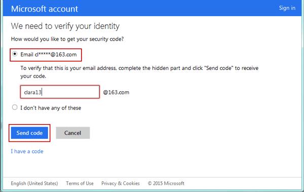 Windows 8 password recovery step 4