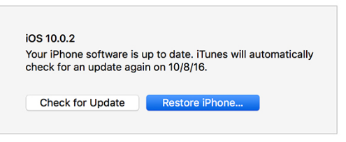 Iphone 6 account recovery step 3