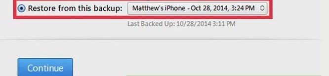 Iphone 6 account recovery step 5