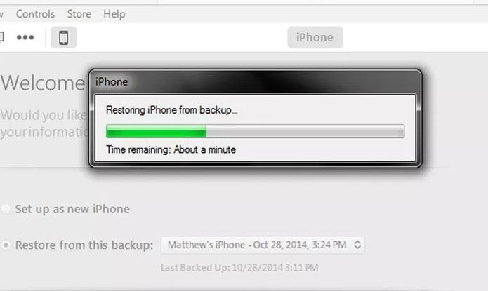 Iphone 6 account recovery step 6